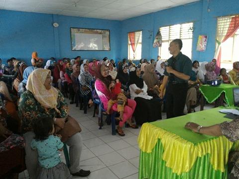 Sosialisasi UN Jujur 2016 - Raung Laboratorium SMP Negeri 10 Lahat