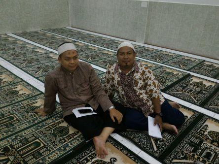 MABIT Kelas IX di Masjid Darussalam Perumnas Selawi Lahat.