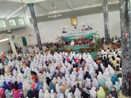SMP Negeri 10 Lahat - Tabligh Akbar Masjid Al-Muttaqin Lahat