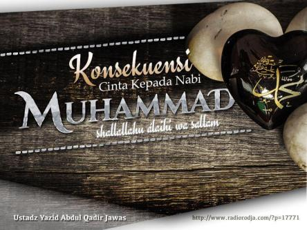 konsekuensi-cinta-kepada-nabi-muhammad